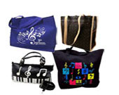 Music Handbags, Music Tote Bags and luggage